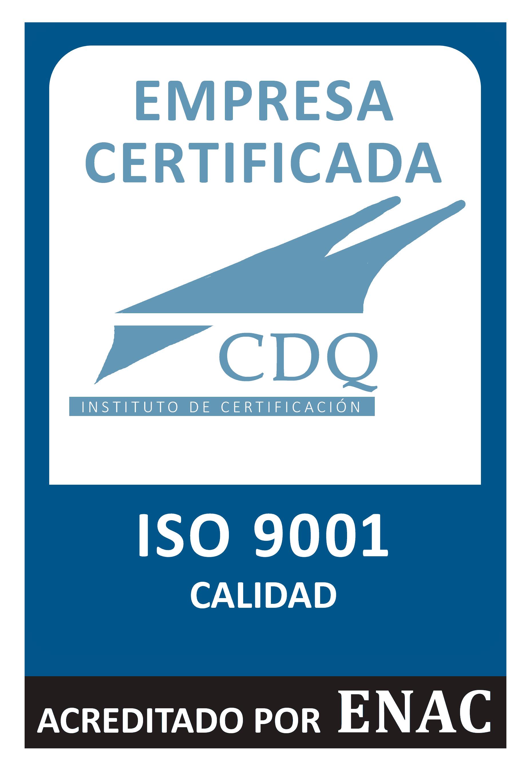 ISO 9001 CDQ Calidad